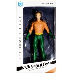 Justice League New 52 Aquaman 8-Inch Bendable Action Figure found on Bargain Bro India from entertainmentearth.com for $24.99