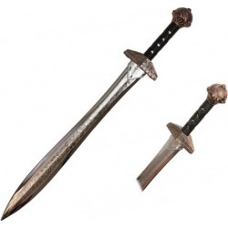 Hero's Edge Silver Polypropylene Roman Sword
