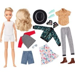 Creatable World Deluxe Character Kit DC-414 Doll