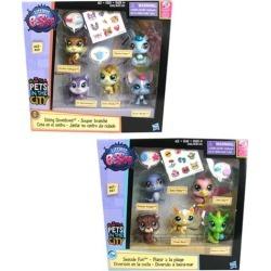 Littlest Pet Shop Multi Pet Packs Wave 2 Set