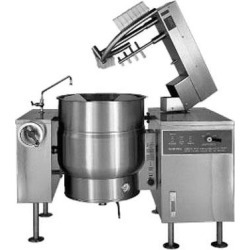80 Gallon Direct Steam Mixer Steam Kettle