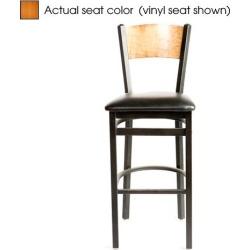 Plain Cherry Wood Back & Seat Barstool found on Bargain Bro India from eTundra for $102.99