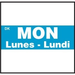 DuraMark XL2 label Monday Label found on Bargain Bro from eTundra for USD $28.11