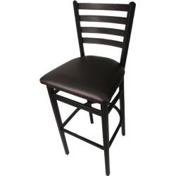 Ladderback Barstool w/Espresso Vinyl Seat found on Bargain Bro India from eTundra for $93.99