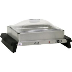 Single Buffet Server with Clear Lid