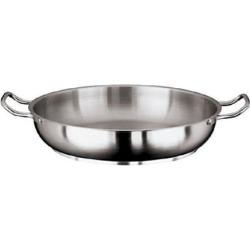 Grand Gourmet 12 1/2 in Stainless Steel Paella Pan