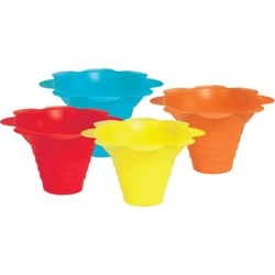 Flower Drip Tray Cups - multicolor (4 oz) found on Bargain Bro India from eTundra for $24.80