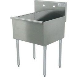 18 in x 18 in x 14 in 1 Compartment Utility Sink found on Bargain Bro Philippines from eTundra for $325.99