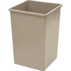 35 gal Beige Trash Can