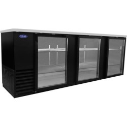 AdvantEDGE 95 in Glass Door Back Bar Cooler found on Bargain Bro India from eTundra for $3314.49