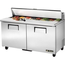 2-Door 60 in Refrigerated Prep Table