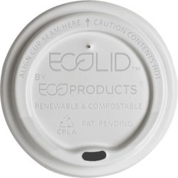 10-20 oz EcoLid® Renewable and Compostable Hot Cup Lids found on Bargain Bro India from eTundra for $91.44