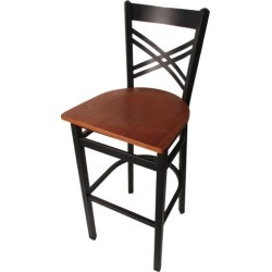 Crossback Barstool w/Cherry Wood Seat found on Bargain Bro India from eTundra for $93.99