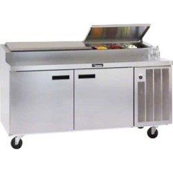 72in Refrigerated Pizza Prep Table