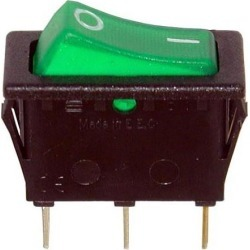 On/Off 3 Tab Lighted Rocker Switch found on Bargain Bro India from eTundra for $13.39