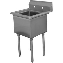 16 in x 20 in x 12 in 1 Compartment Sink w/ No Drainboards found on Bargain Bro Philippines from eTundra for $207.99