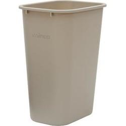 41 qt Beige Trash Can