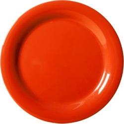 Mardi Gras Rio Orange 10 1/2 in Narrow Rim Plate found on Bargain Bro India from eTundra for $131.24