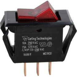 On/Off 3 Tab Lighted Rocker Switch found on Bargain Bro India from eTundra for $3.76