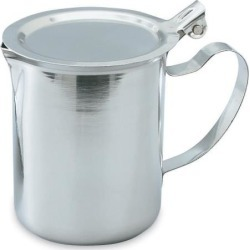 10 oz Stainless Steel Server With Cover