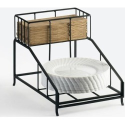 2-Tier Plate and Napkin Dispenser found on Bargain Bro Philippines from eTundra for $42.99