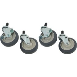 1 in Expanding Stem Caster Set with 5 in Wheels found on Bargain Bro from eTundra for USD $97.34