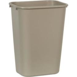10 gal Beige Trash Can