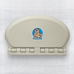 Gray Wall Mounted Baby Changing Station