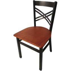 Crossback Chair w/Cherry Wood Seat found on Bargain Bro India from eTundra for $64.99