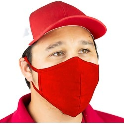 Red Reusable Face Mask found on MODAPINS from eTundra for USD $12.99