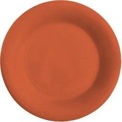 Mardi Gras Rio Orange 6 1/2 in Wide Rim Plate found on Bargain Bro India from eTundra for $240.44