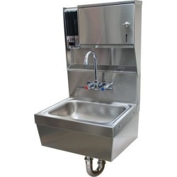 14 in x 10 in x 5 in Hand Sink w/ Soap and Towel Dispenser found on Bargain Bro Philippines from eTundra for $854.10