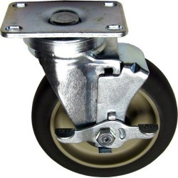 5 in Swivel Plate Caster w/ Brake found on Bargain Bro India from eTundra for $20.12