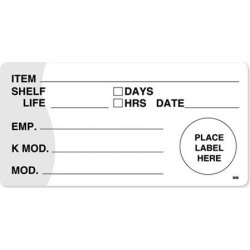 MoveMark 2 in x 4 in KMOD/Shelf Life Label found on Bargain Bro India from eTundra for $14.24
