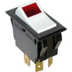 On/Off 4 Tab Lighted Rocker Switch found on Bargain Bro India from eTundra for $29.15