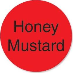DuraMark 1 in Round Honey Mustard Label found on Bargain Bro from eTundra for USD $6.22