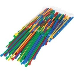 Spoon Straws - multicolor pack found on Bargain Bro from eTundra for USD $2.93
