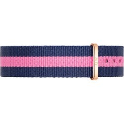 Daniel Wellington Winchester 18mm Pink and Navy NATO Strap found on MODAPINS from Fields for USD $32.50