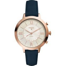 Fossil Q Virginia Navy Leather Strap Ladies Smartwatch found on MODAPINS from Fields for USD $167.70