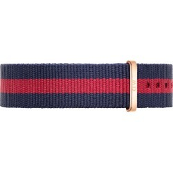 Daniel Wellington Oxford 18mm Red and Navy NATO Strap found on Bargain Bro India from Fields for $23.40