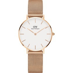 Daniel Wellington Classic Petite Melrose Rose-Gold Mesh Strap Watch found on MODAPINS from Fields for USD $206.70
