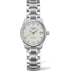 Longines Master Collection Automatic Ladies' Diamond White Dial Stainless Steel Watch found on MODAPINS from Fields for USD $1950.00
