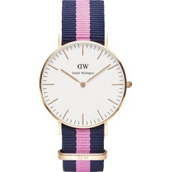 Daniel Wellington Classic Winchester Lady blue and pink NATO strap watch found on MODAPINS from Fields for USD $180.70