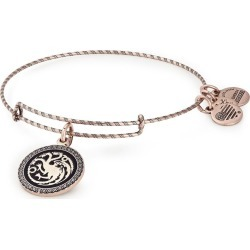 Alex and Ani Rafaelian Rose Gold Game Of Thrones Fire & Blood Bangle