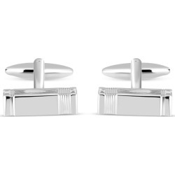 Gents Silver-Plated Cufflinks found on MODAPINS from Fields for USD $48.75