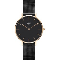 Daniel Wellington Classic Petite Ashfield Black Mesh and Rose Gold Ladies Watch found on MODAPINS from Fields for USD $206.70