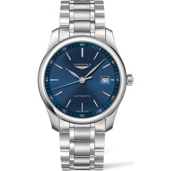 Longines Watchmaking Tradition Master Collection Navy-Blue Dial Steel Bracelet Men's Watch found on MODAPINS from Fields for USD $2483.00
