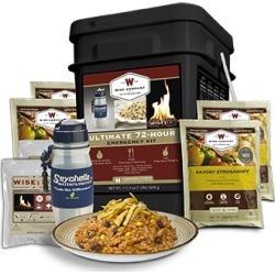 Wise Food Co. Ultimate Bucket 72-Hr Kit