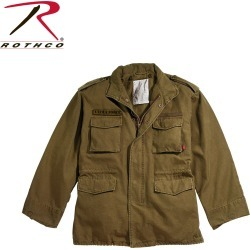 Rothco* Vintage M-65 Field Jacket, Russet Brown (XL)