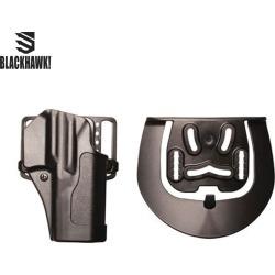 Blackhawk Standard CQC Holster Glock 42 LEFTHAND- Black found on Bargain Bro from Field Supply for USD $12.02